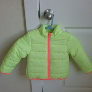 Crazy 8 Girl's Puff Jacket